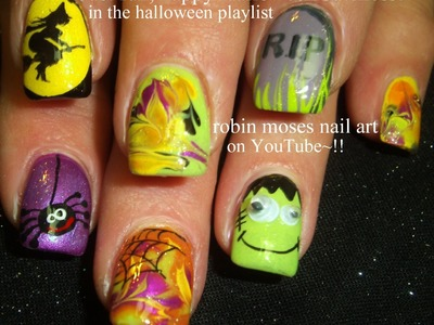 5 Nail Art Tutorials | DIY Easy Halloween Nails
