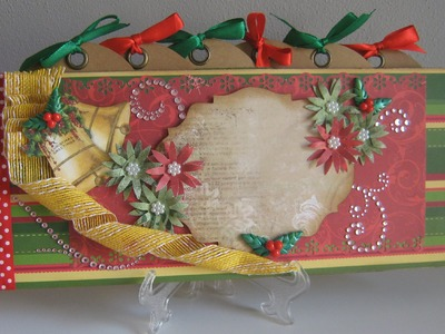 Album e kit Natale - Scrapbooking Tutorial | Scrapmary