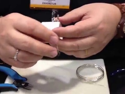 Artistic Wire 3D Wire Jig for Bracelets - 2015 CHA Show - Beadalon