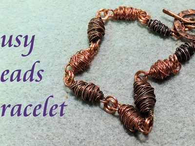 Busy Beads Bracelet - Wire Jewelry Making Tutorial