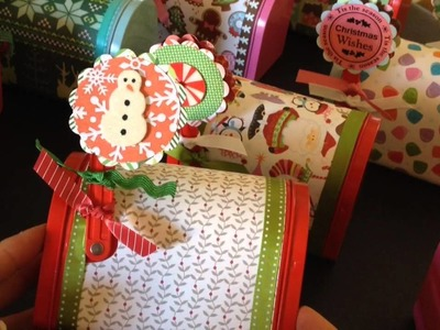 Christmas Mailboxes For Craft Fair