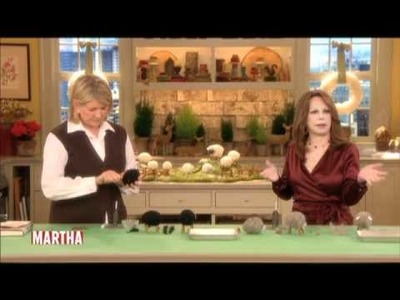 Crafting with Martha and Marlo Thomas | Marlo Thomas | Martha Stewart