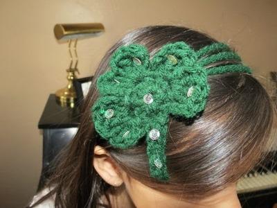 Crochet Shamrock Tutorial