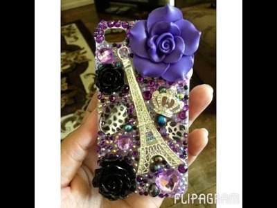 DIY Beginner Bling iPhone 4 Case