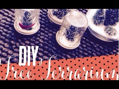 DIY Christmas Tree Terrarium Craft for the November 2014 Scentsy Warmer of the Month