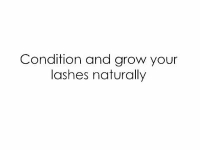 DIY: Grow and condition your lashes Naturally