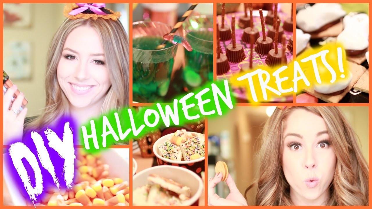 DIY Halloween Treats!