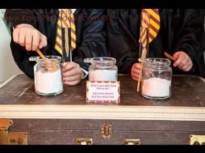 DIY Harry potter birthday party decorating ideas