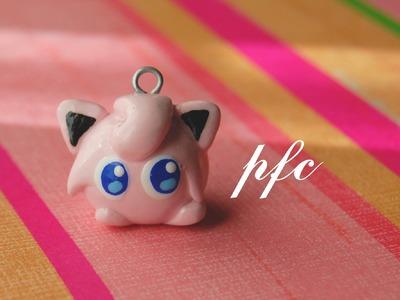DIY Jigglypuff Pokémon Polymer Clay Charm Tutorial