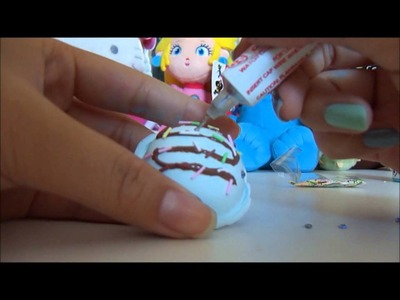 DIY kawaii icecream ring