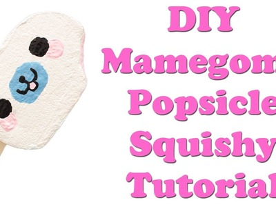 DIY Mamegoma Popsicle Squishy Tutorial
