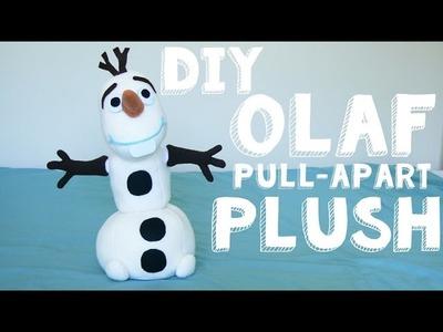 DIY Olaf Build-a-Snowman Plush - Pull-apart Olaf | LDP