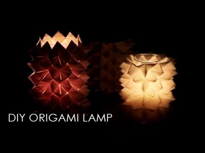 DIY Origami Lampe