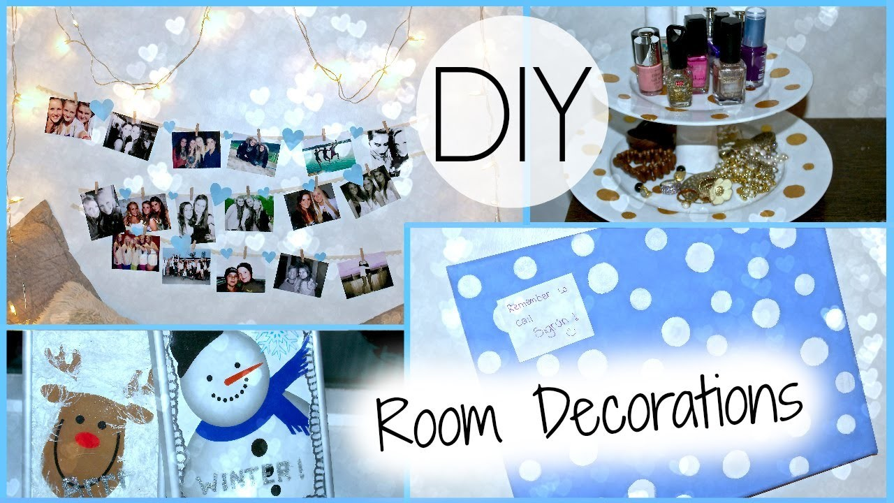 DIY Room Decorations!!