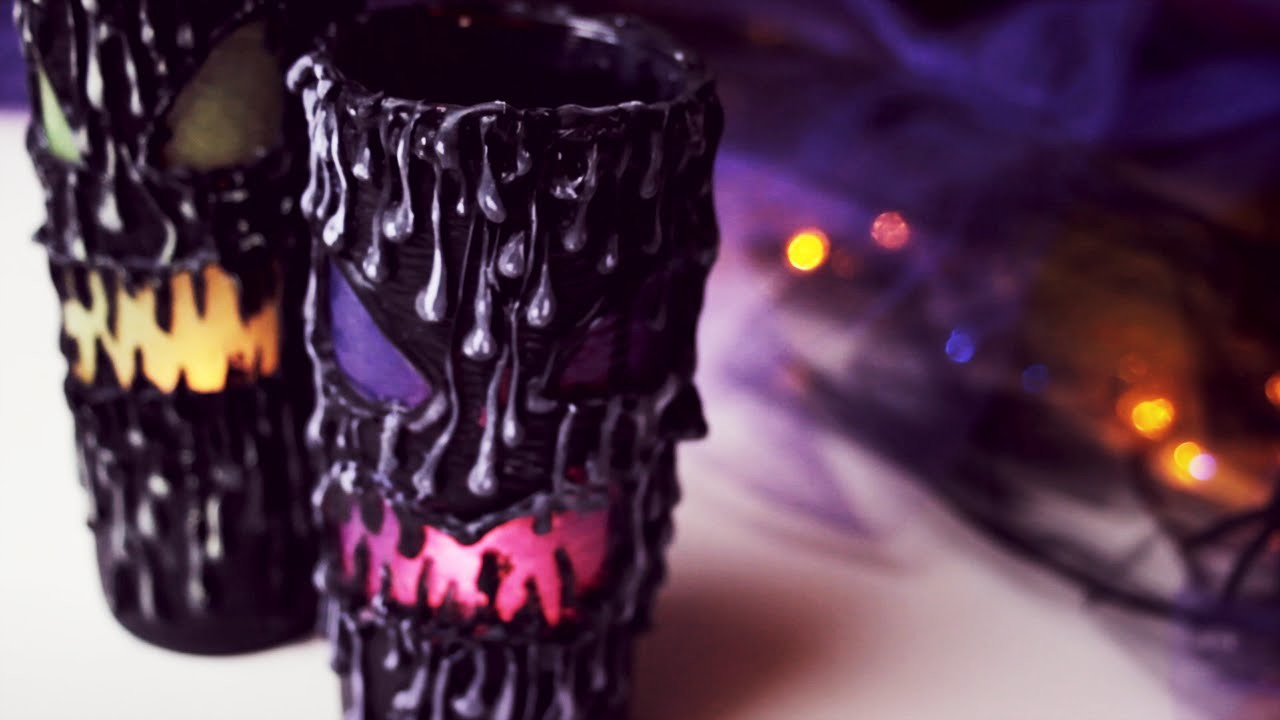 DIY: Scary Halloween Lantern - Home Decor