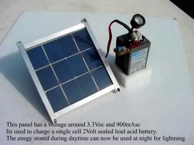 DIY Solar Panel.wmv