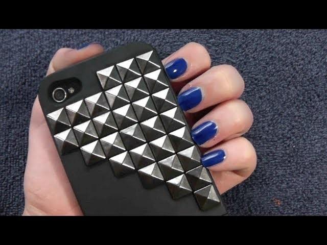 DIY: Studded iPhone Case