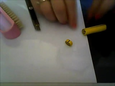 DIY:Tutorial girella in fimo. polymer clay