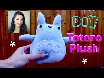 Easy & Fun - DIY TOTORO Plush || Tutorial!