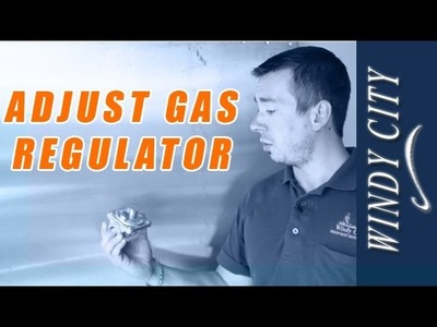 How to adjust gas pressure, adjust gas regulator tutorial DIY Windy City Restaurant Equipment Parts