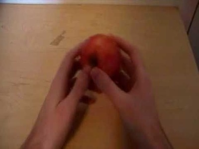 How To Break An Apple In Half With Your Bare Hands