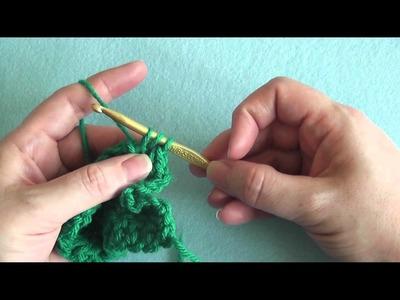 How To: Double Crochet Back Post (dcbp)
