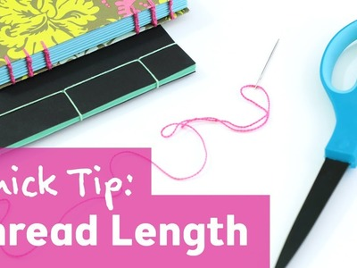 How to Estimate Thread Length for Bookbinding