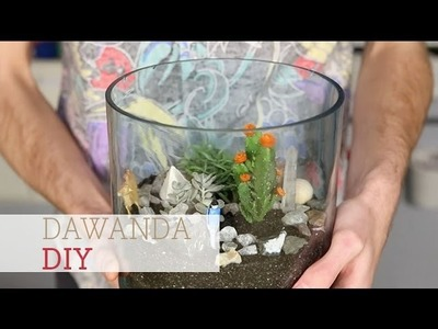 How to make a cactus Terrarium