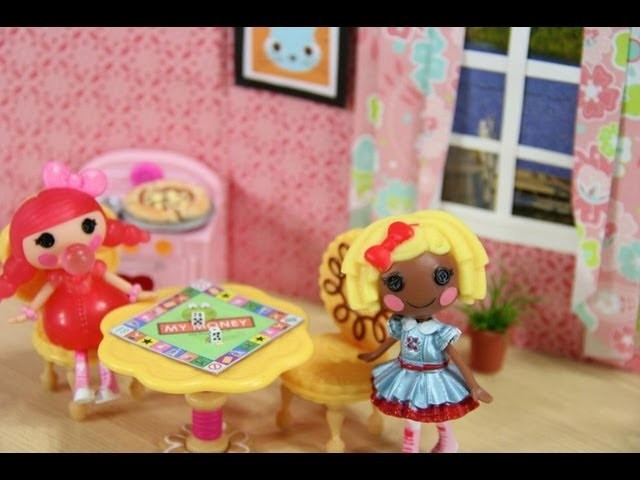 How to Make a Doll Board Game - Doll Crafts