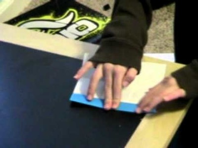 How to make a paper tray