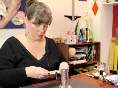 How to Make a Small Rocket From Aluminum Foil : Jewelry, Decorations & Other Crafts
