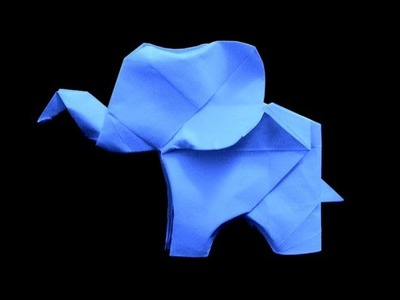 How to make: Origami Elephant (Fumiaki Kawahata)