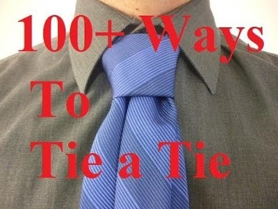 HOW TO TIE A TIE Reverse Four in Hand Necktie Knot