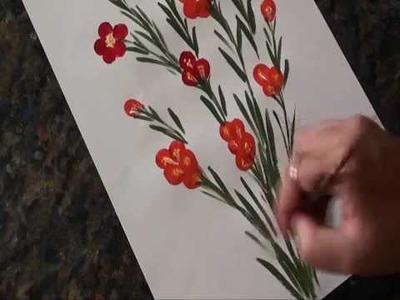 Kids Crafts - finger painting