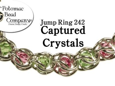 Make a Captured Crystals Bracelet
