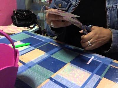 "Manualidades :Scrapbook con Trupan-By:""Taller Dnella""2014"