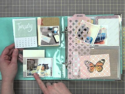 My 6x8 Project Life Setup + Plan