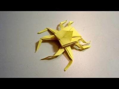 Origami Spider Crab