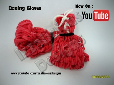 Rainbow Loom Boxing Gloves.Mixed Martial Arts (MMA) Tutorial