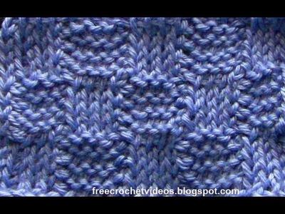 Tunisian Crochet: Basketweave Stitch