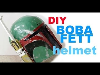 #1: Boba Fett Helmet DIY 1.4 - Cardboard With Template