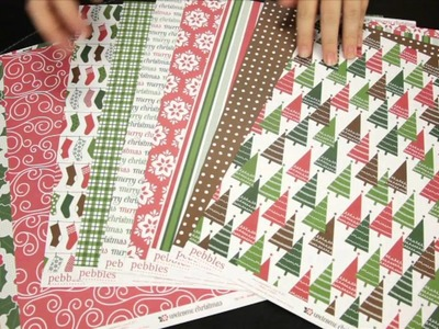 American Crafts - Welcome Christmas Scrapbook Collection