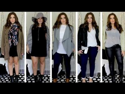 Autumn Lookbook | OOTD | Aussie Clothing Haul