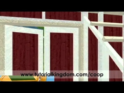 Building a Chicken Coop - Easy DIY - 3D Example
