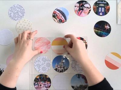 Carolina Moon - Scrapbook and Project Life Spread