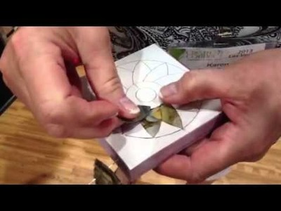Craft quilting product demo: Artsi2 no sew quilt wall hanging