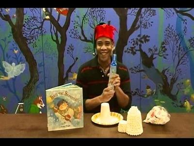 Crafty Creations #35: Winter Crafts - Glue Snowmen & Edible Marshmallow Igloos