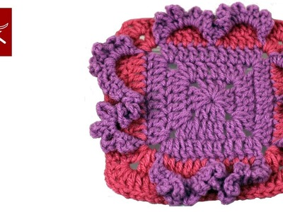 Crochet a Frilly Granny Square Crochet Geek