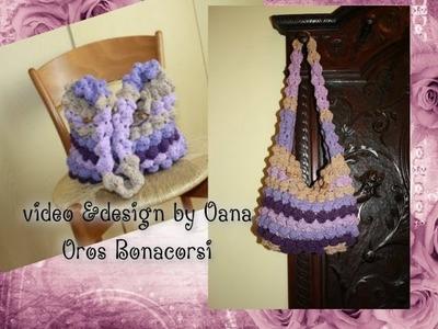 Crochet bubbles bag I