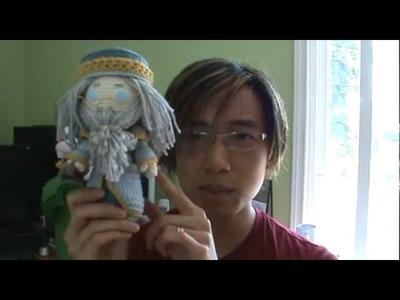 Crochet Dumbledore Plushie